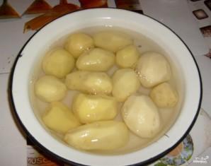 Картофель с майонезом - фото шаг 1