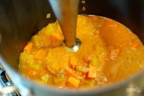 Суп-пюре с тыквой и бататом - фото шаг 5
