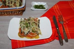 Мойва с картошкой в духовке - фото шаг 12