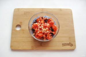 Салат из свеклы и помидоров - фото шаг 5
