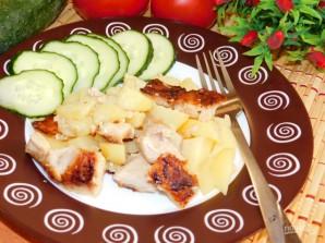 Картофель с мясом по-гречески - фото шаг 5