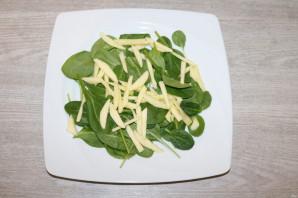 Диетический зелёный салат - фото шаг 4