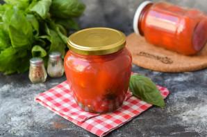 Консервированные помидоры чили на зиму без стерилизации - фото шаг 8