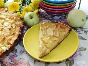 Яблочный пирог на крахмале - фото шаг 5