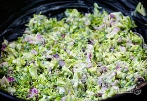 Салат с бальзамическим уксусом - фото шаг 7