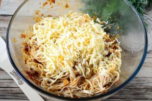 """Пирог из спагетти """"Болоньезе"""" - фото шаг 4"""