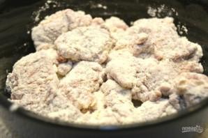 Телячья печень в панировке - фото шаг 7