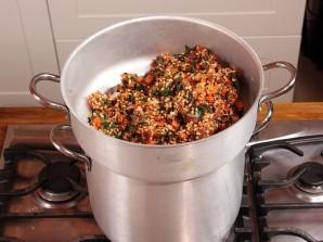 Рис с мясом и овощами на пару - фото шаг 8