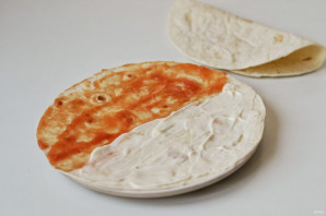 Тортилья с помидорами - фото шаг 2
