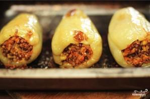 Перец, фаршированный сыром и гречкой - фото шаг 4