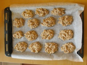 Овсяное печенье без масла - фото шаг 5