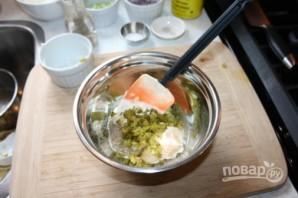 Картофельный салат с яйцом - фото шаг 4