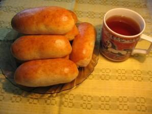 Пирожки с сосиской в духовке - фото шаг 5
