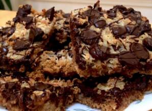Пирог из крекеров со сгущенкой и шоколадом - фото шаг 10