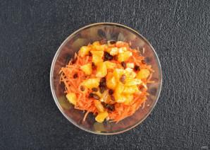 Салат из моркови, яблок и апельсина - фото шаг 4