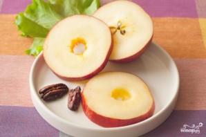 Яблоки с сыром - фото шаг 2