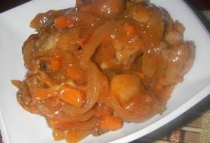 Острая курица с овощами - фото шаг 4