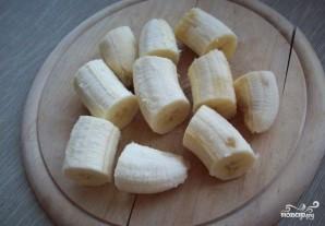 Банановое печенье с геркулесом - фото шаг 1