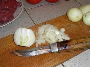 Гуляш из говядины с помидорами - фото шаг 4