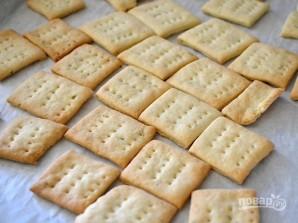 Домашние крекеры - фото шаг 10