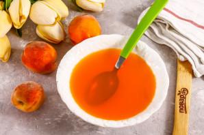 Творожное суфле с персиками - фото шаг 2