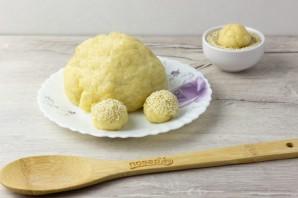 Постное печенье с кунжутом - фото шаг 5