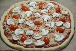 "Пицца ""Примавера"" - фото шаг 12"