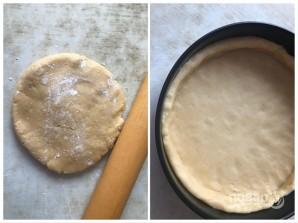 Песочный пирог с сыром - фото шаг 7