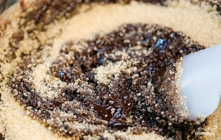 Шоколадно-творожный пирог - фото шаг 4