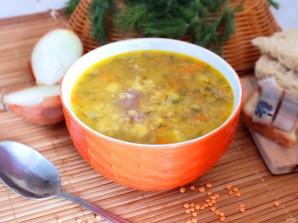 Чечевичный суп с говядиной - фото шаг 9