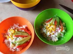 Крабовый салат обычный - фото шаг 10