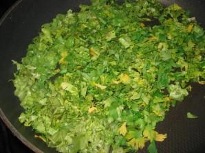 Чебуреки с зеленью - фото шаг 2