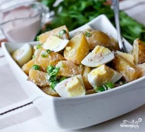Салат из яиц и картофеля - фото шаг 8