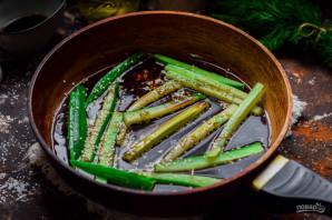 Жареные огурцы по-японски - фото шаг 5