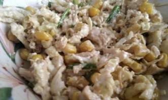 Белковый салат с курицей - фото шаг 4