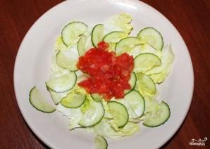 Салат из пророщенной чечевицы - фото шаг 5