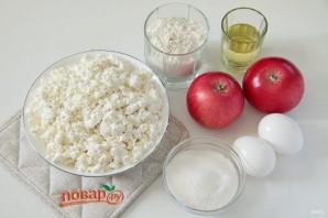 Сырники с яблоками - фото шаг 1