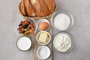 Выпечка из черствого хлеба - фото шаг 1