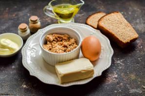 Бутерброды с паштетом из тунца - фото шаг 1