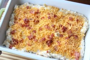 Картофельная запеканка с беконом и сыром - фото шаг 5