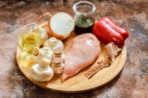 Курица с грибами по-китайски - фото шаг 1