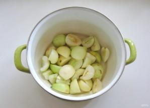 Компот из яблок, груш и алычи - фото шаг 1