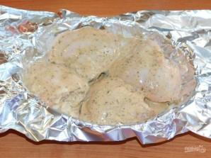 Куриные бедра в соево-горчичном маринаде - фото шаг 4