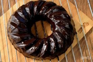 Шоколадный чайный пирог - фото шаг 9