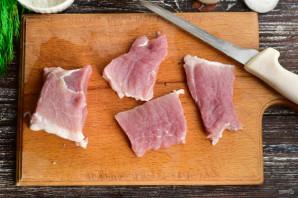Мясо в картофельной шубке - фото шаг 2