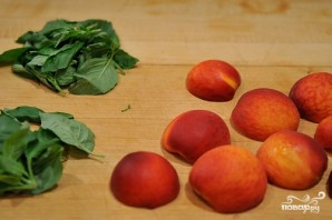 Персиковый десерт - фото шаг 3