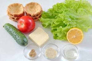 Овощные тарталетки - фото шаг 1