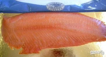 Паста с красной рыбой - фото шаг 1