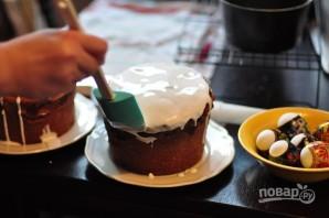 Кулич на молоке и желтках - фото шаг 11