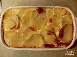 Картофельная запеканка с тыквой постная - фото шаг 6